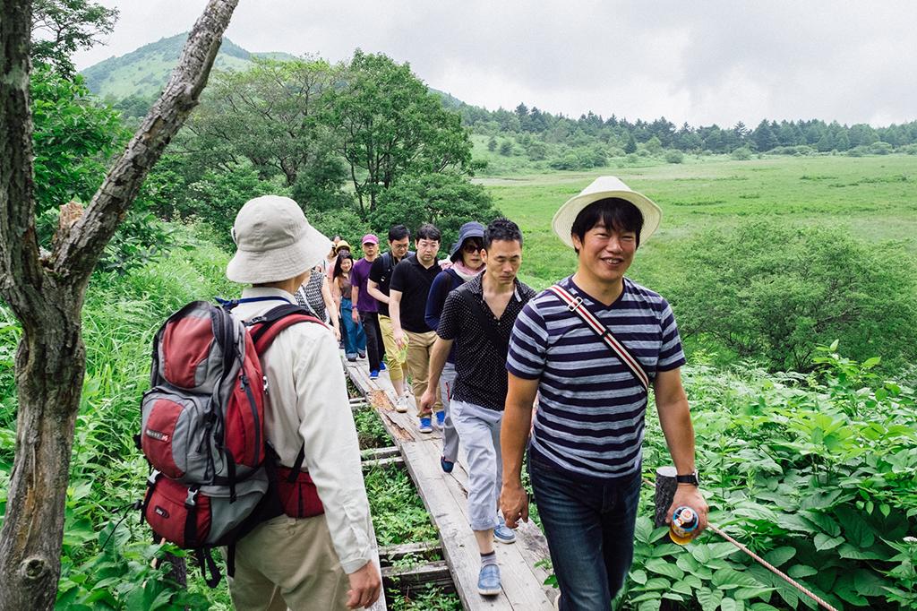 社員旅行に行ってきました。2日目:湿原~諏訪湖散策~昼食編2