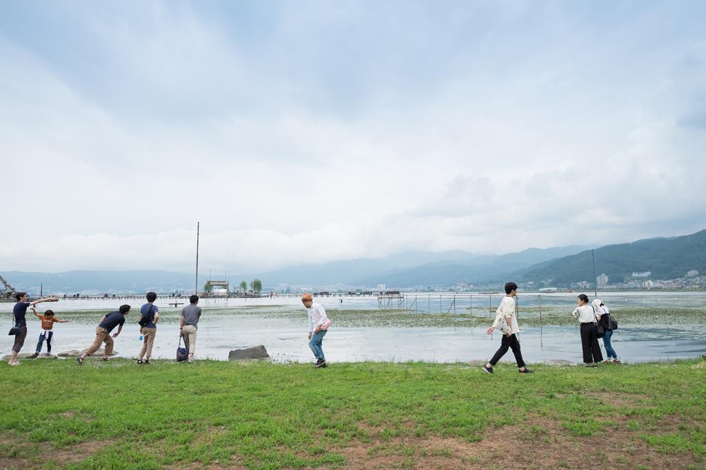 社員旅行に行ってきました。2日目:湿原~諏訪湖散策~昼食編10